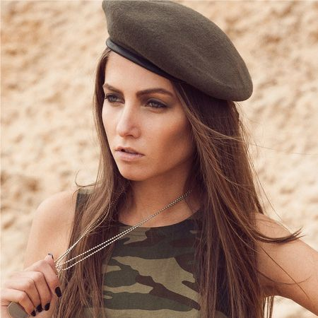 Oddly enough, military style makeup emphasizes femininity