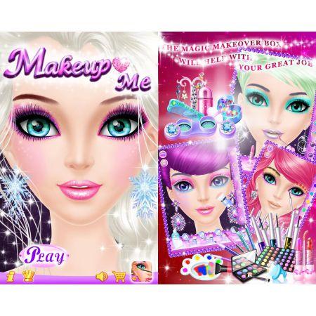 Features MakeUp Me - teaching makeup game