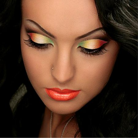 Make-up Tutorial: Banana Inspired Eyes