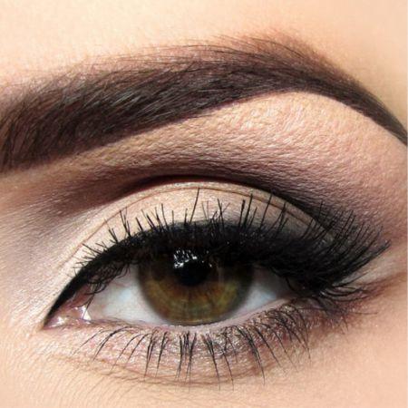 Классический макияж глаз это красиво