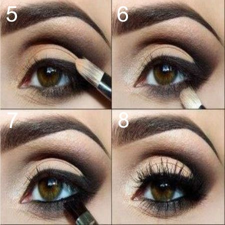 Eye Pencil Makeup Technique step by step