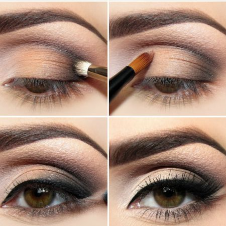 How To Correct Small Eyes With The Help Of Make-up