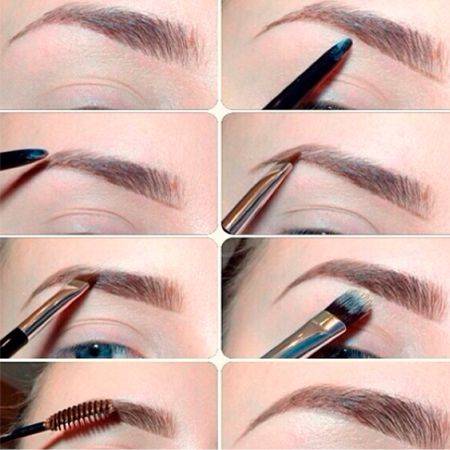 Regular shape the eyebrows - an important part of the eye makeup