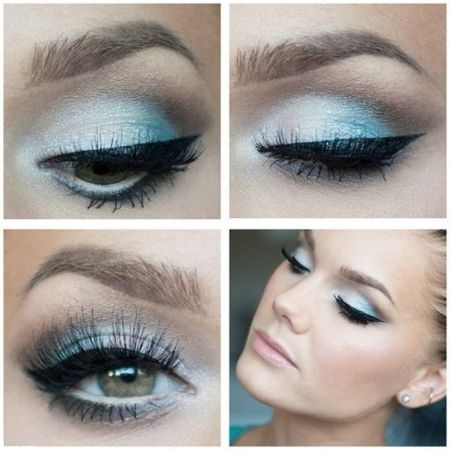Secrets blue makeup
