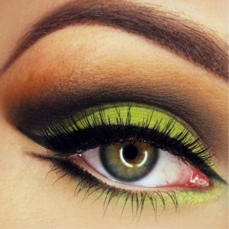 Желтый макияж: секреты и тонкости
