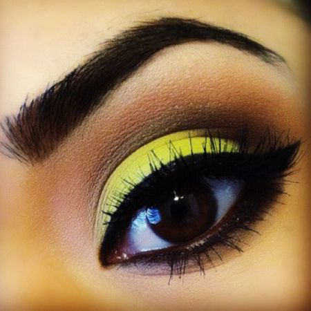 Secrets yellow makeup