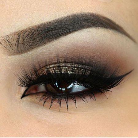 Карандаш подчеркивающий красоту глаз коричневого цвета