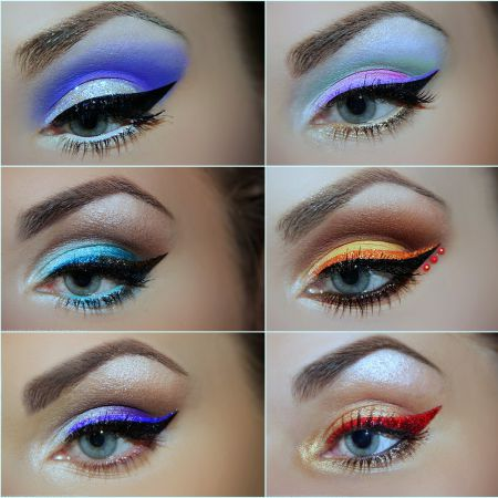 Eyeliner to stress Blue-Gray Eyes