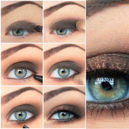 Makeup for Blue-Gray Eyes: the secrets and peculiarities