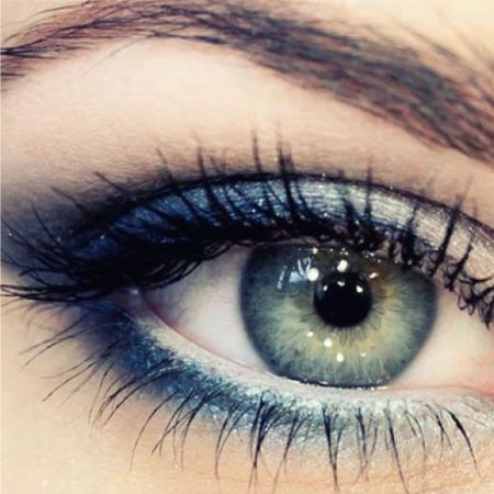 Mascara Blue-Green Eyes - How to Choose - the Secrets of Stylists Makeup Artists