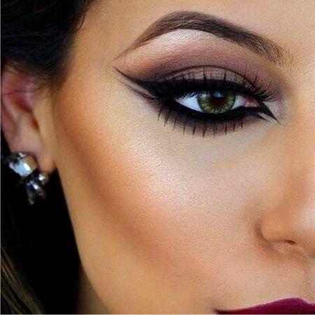 Макияж, подчеркивающий красоту зеленых глаз