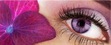 Макияж фиалковых глаз