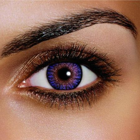 How to make a beautiful makeup for Violet Eyes?