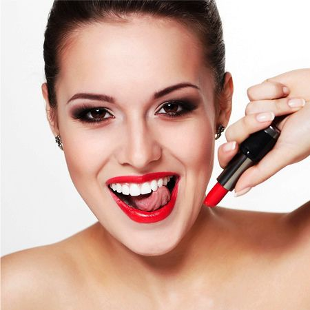 What is the lipstick tooth whitening?