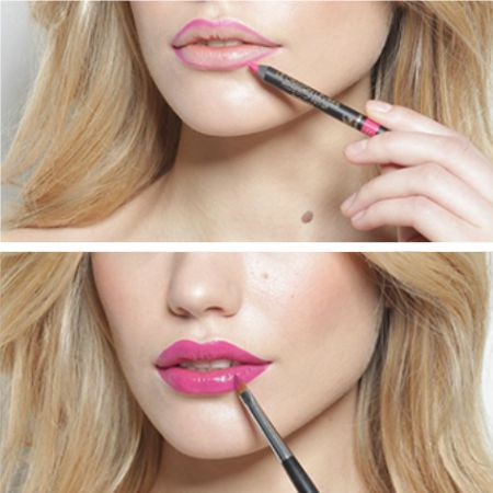 How to correct lip shape with the help of makeup