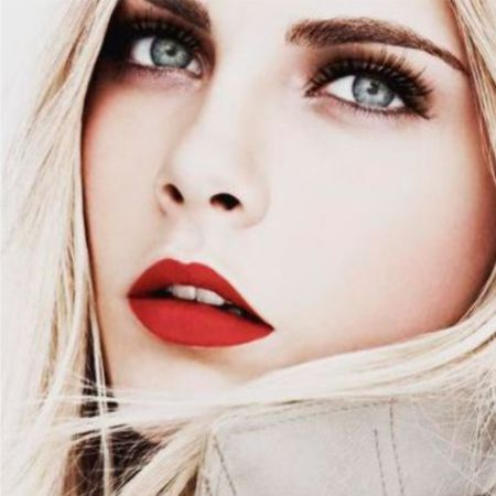 How to Apply Lip Makeup Using Red Matte Lipstick