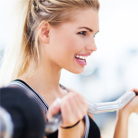 Makeup for fitness