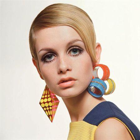 макияж в стиле 60-х годов