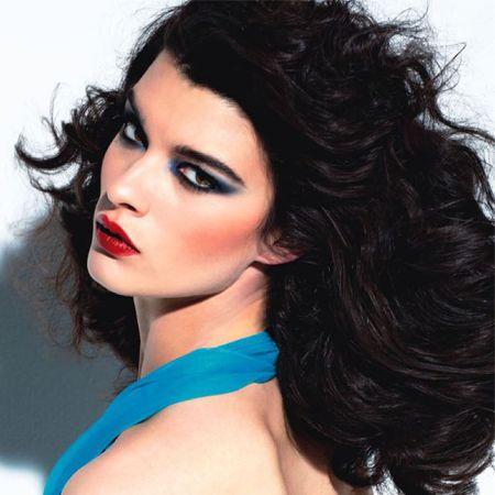 Disco 80 stylish makeup photo
