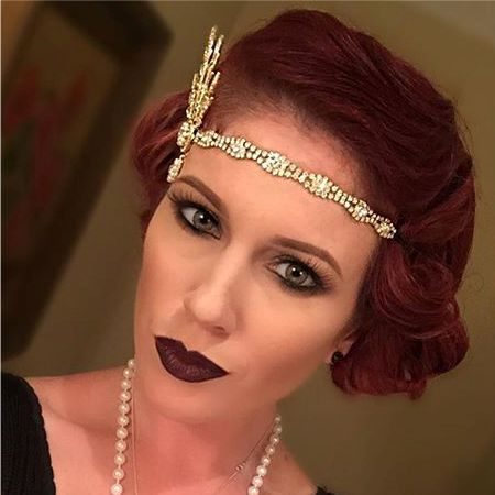 стильный макияж в стиле 30-х