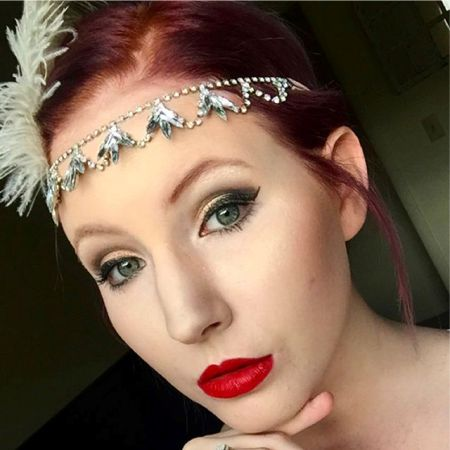 The Great Gatsby Makeup Style