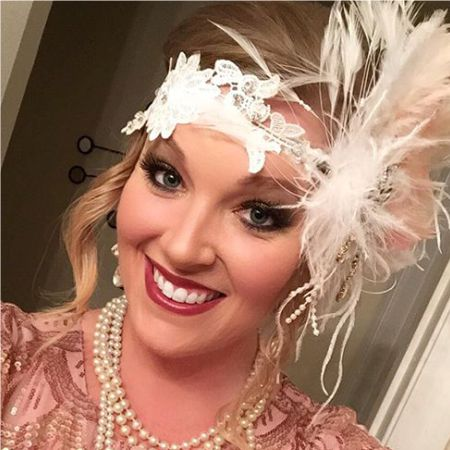 Gatsby style makeup