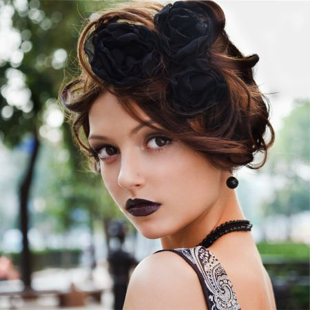 ретро стиль в макияже
