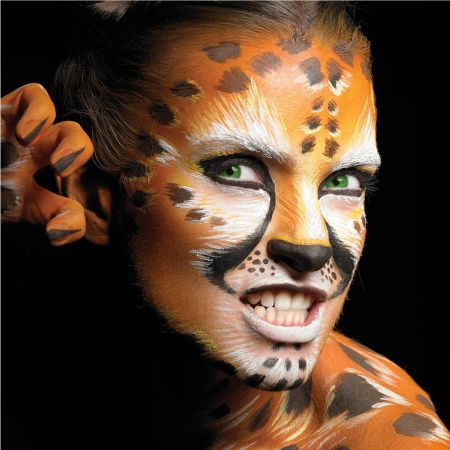 Makeup for Halloween - A lot depends on your courage and imagination