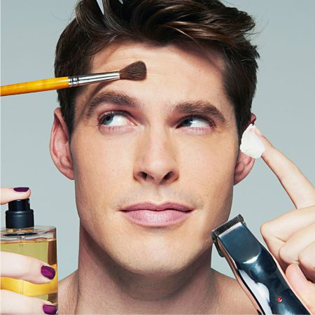 Мужчины и макияж - вполне совместимые вещи